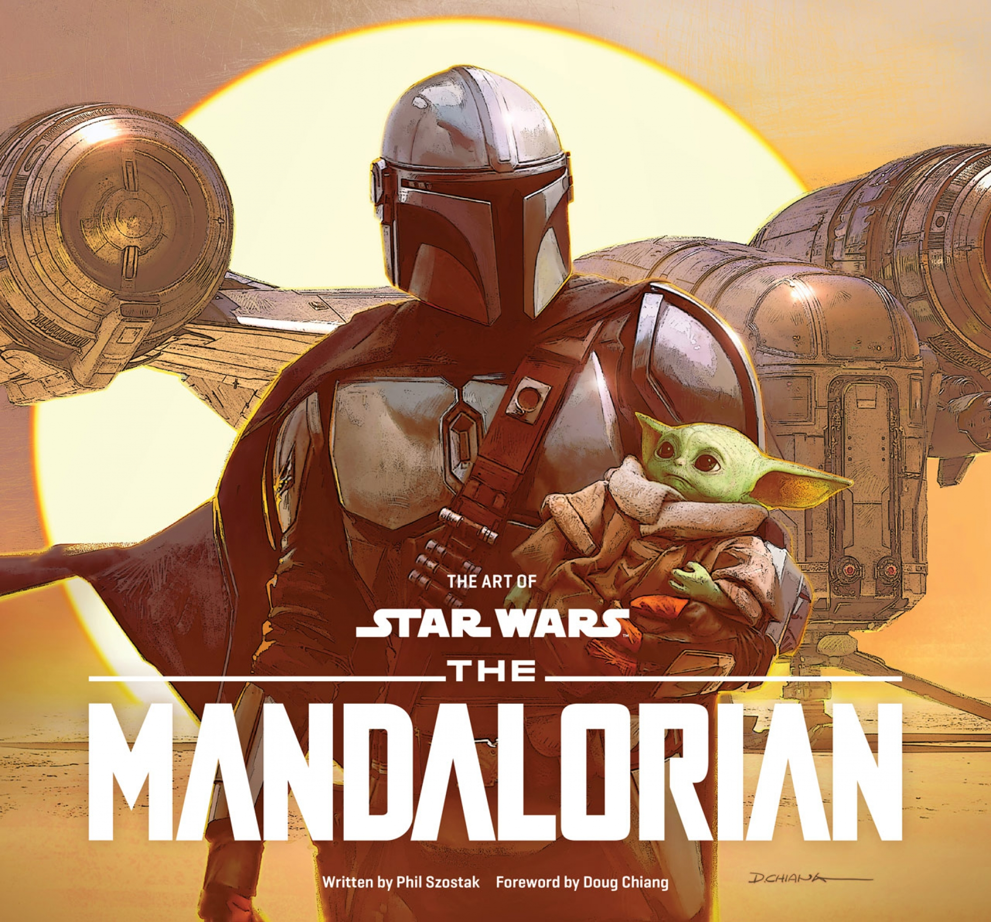 Art Of Mandalorian Final Cover Credits