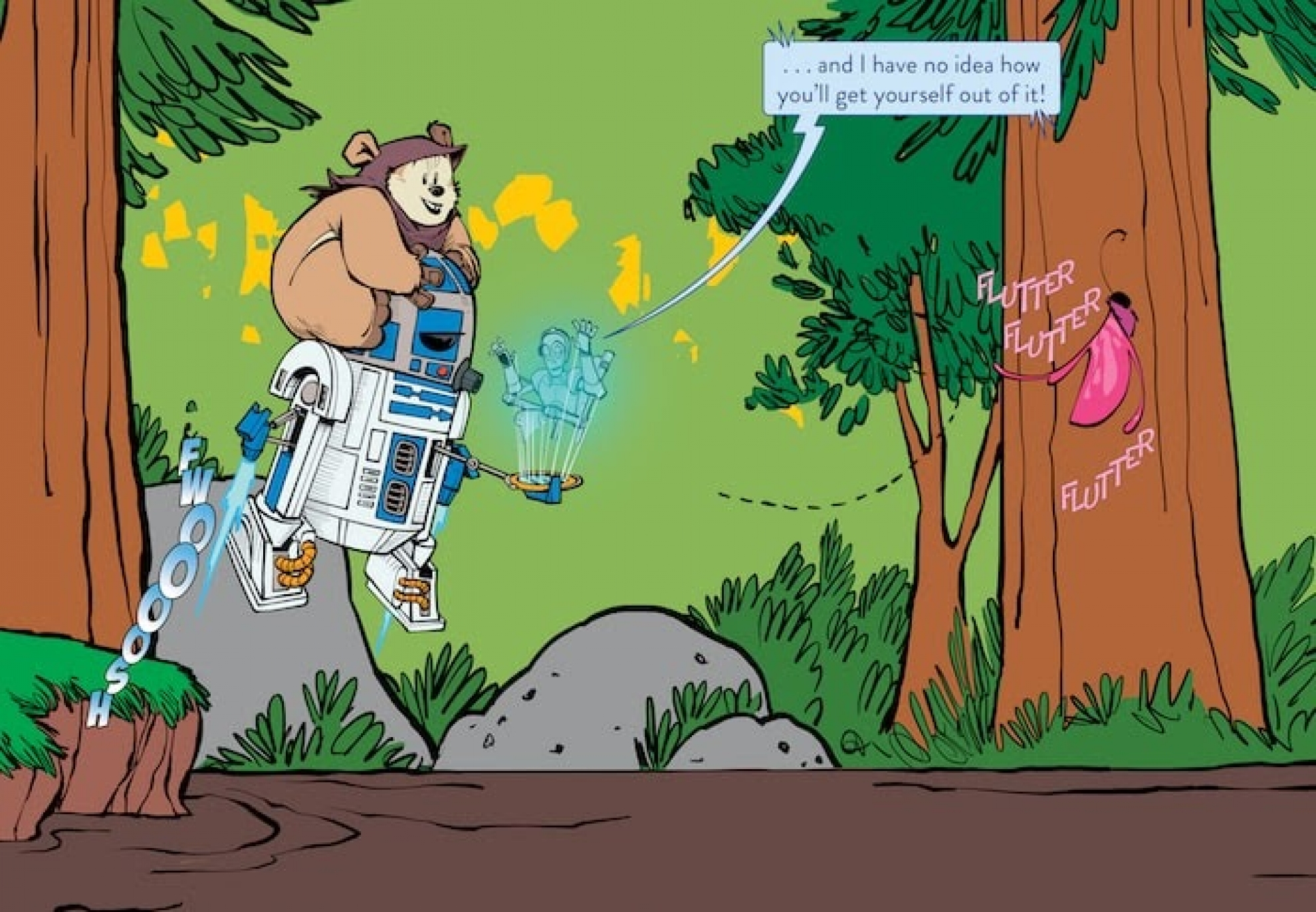 Childrens Book Review Star Wars R2 D2 Is Lost 2